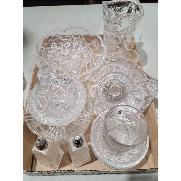 crystal glass lot