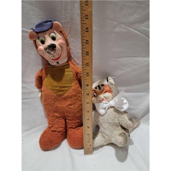 2 vintage stuffies