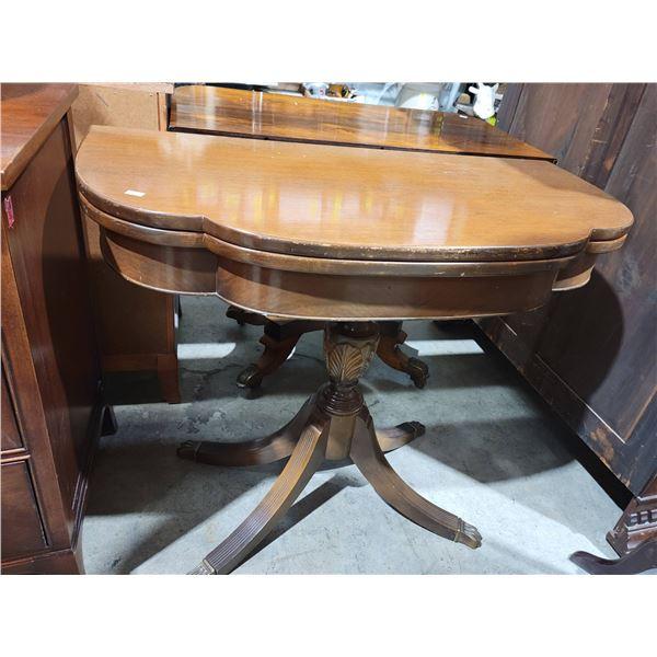 Duncan Phyfe folding table