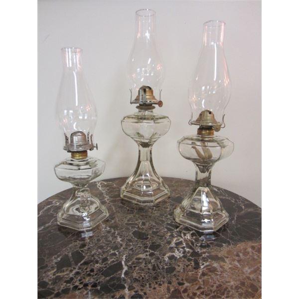 lot oil lamps 3