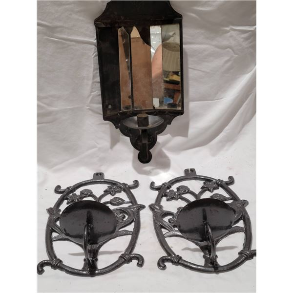 lot candle holders