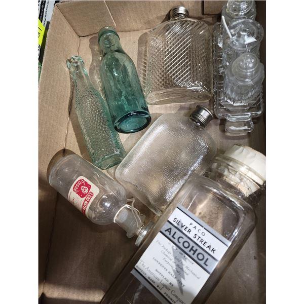 lot bottles etc
