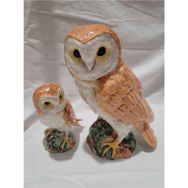 Beswick owls