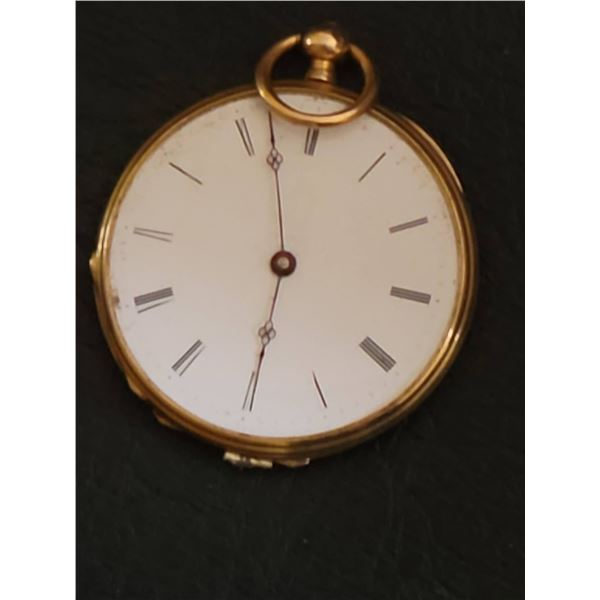 gold watch for repair