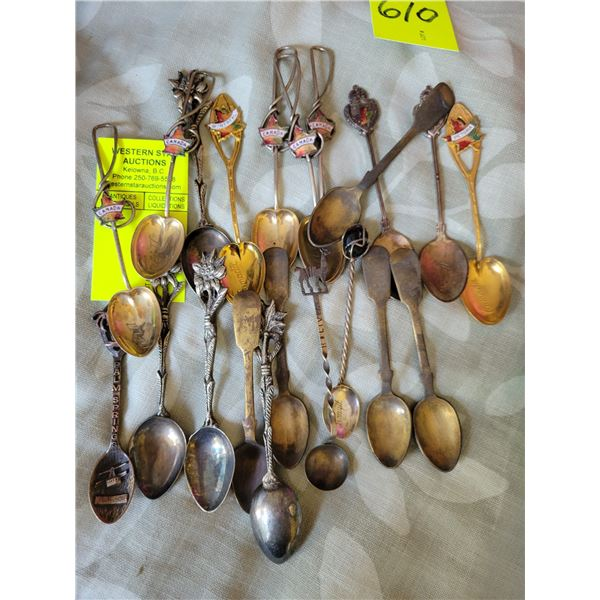 lot collector spoons
