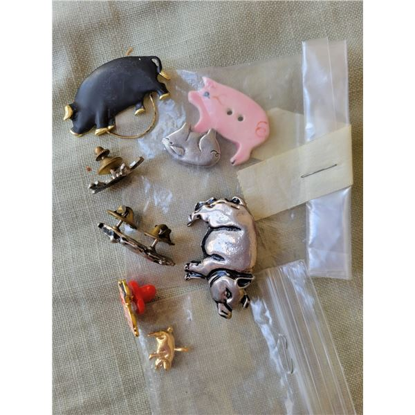 pig pin collection