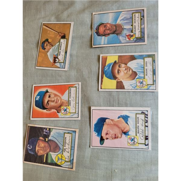 lot vintage baseball cards