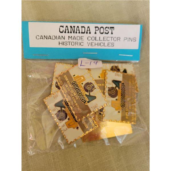 Canada post collector pins