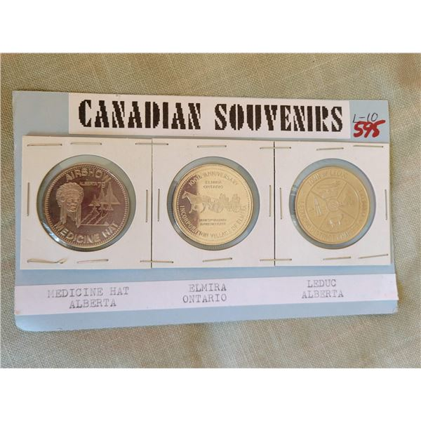 Canadian souveneir coins