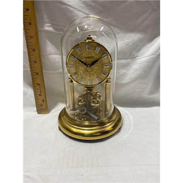 Kern & Sohn Mini Anniversary clock 8 1/4 inches tall works