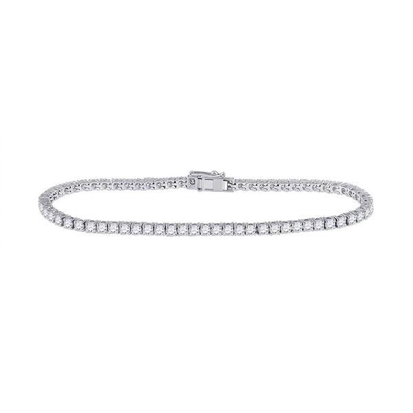 Diamond Tennis Bracelet 4 Cttw 14kt White Gold