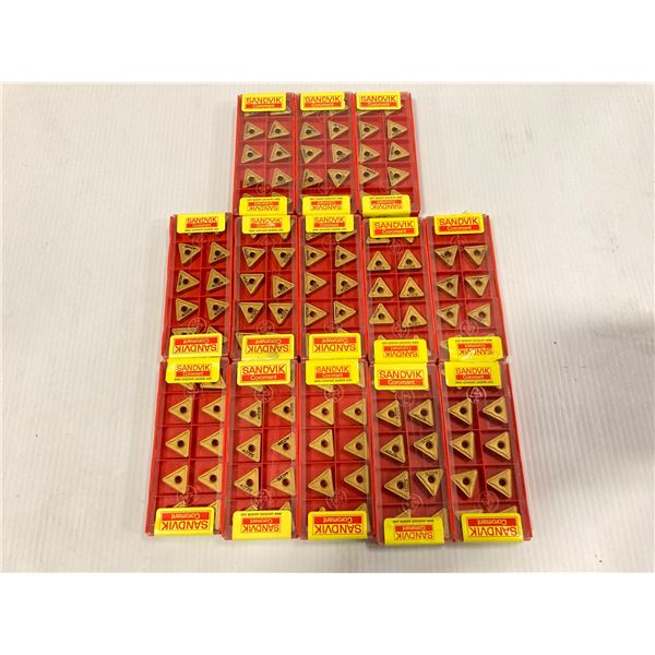 Lot of (130) New? Sandvik Carbide Inserts, P/N: TNMG 333-QF