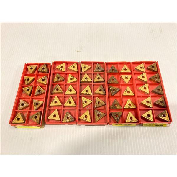 Lot of (50) Sandvik Carbide Inserts, P/N: TNMG 332-QM