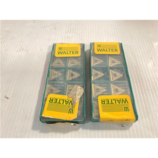Lot of (20) New? Walter Carbide Inserts, P/N: TNMG160408-NR4
