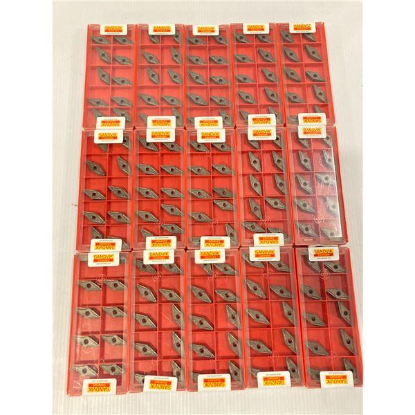Lot of (150) New? Sandvik Carbide Inserts, P/N: VNMG 333-MF