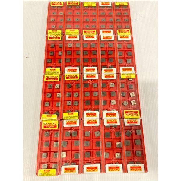 Lot of (200) New? Sandvik Carbide Inserts, P/N: SPG 324