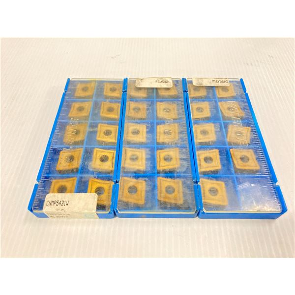 Lot of (29) New? Valenite Carbide Inserts, P/N: CNMP5431W