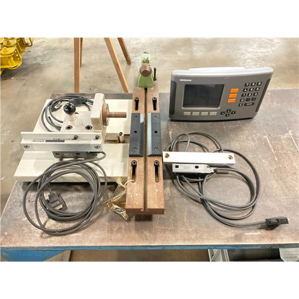 Heidenhain ND780 Digital Read Out Unit with Measuring Table Assembly