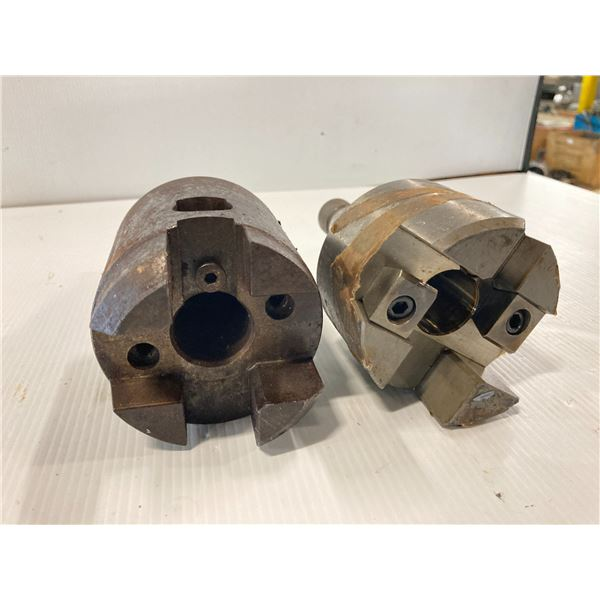 Lot of (2) NMTB40 Tool Holders