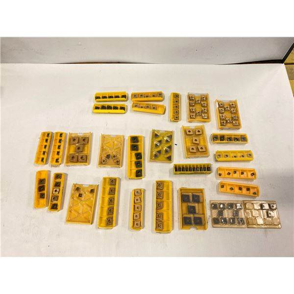 Lot of New? Misc Kennametal Carbide Inserts