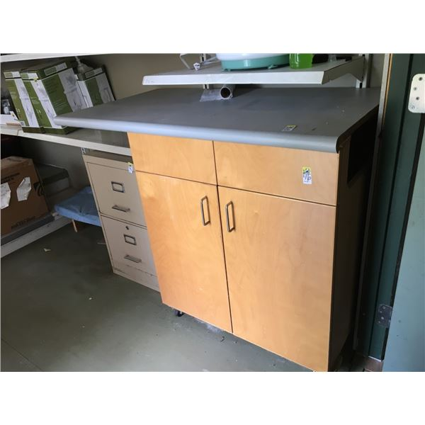 Counter and Cupboards