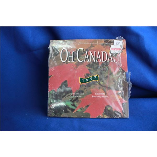 Canada Coin Set - 1997, Coins have Cameo Effect