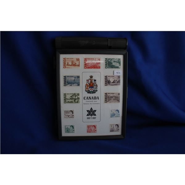 Canada Centennial Regular Issue Postage Stamps