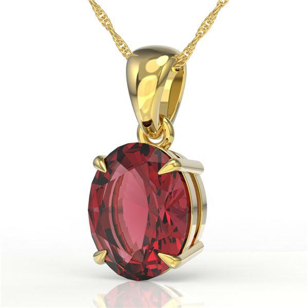 3 ctw Pink Tourmaline Designer Necklace 18k Yellow Gold - REF-42H3R