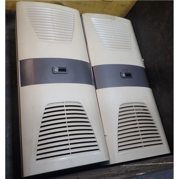 Lot of (2) Rittal #SK 3304540 Cooling Units