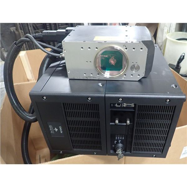 Keyence #MD-F3100C Laser Engraver w/ Attachment