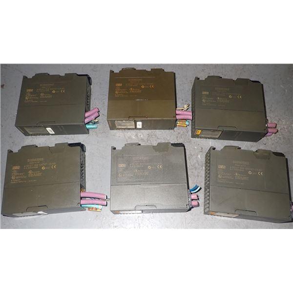Lot of (6) Siemens #6ES7158-0AD01-0XA0 Modules