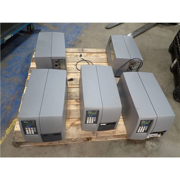 Lot of (5) Intermec #PM4i Printers