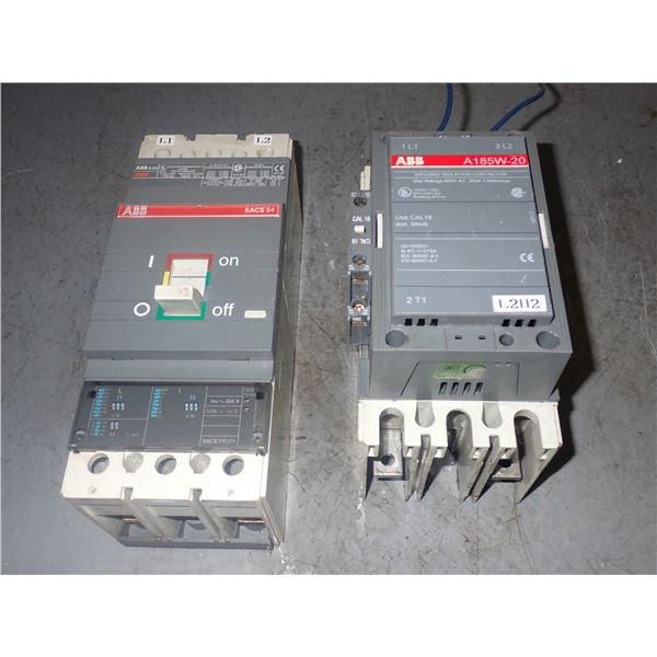 Lot of (2) ABB Circuit breakers