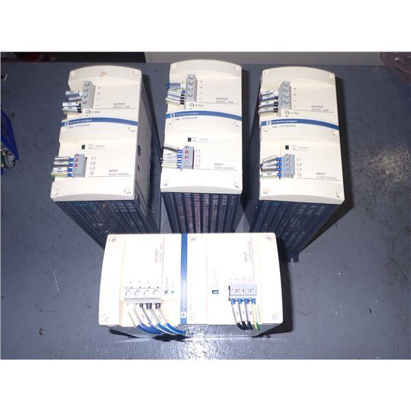 Lot of (4) Schneider #ABL7UPS24400 Modules