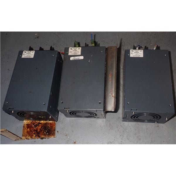 Lot of (3) LAMBDA #JWS300-24 POWER SUPPLIES