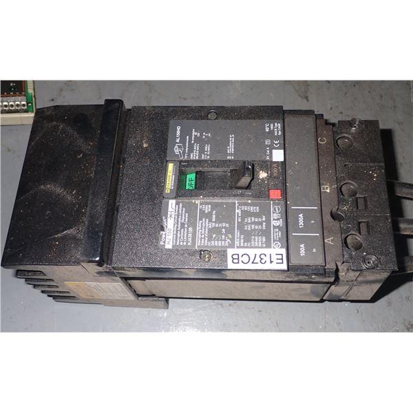 Square D #HJA36100 Circuit Breaker