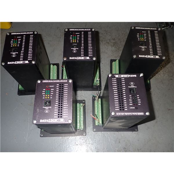 Lot of (5) Datalogic #HS880B Controllers