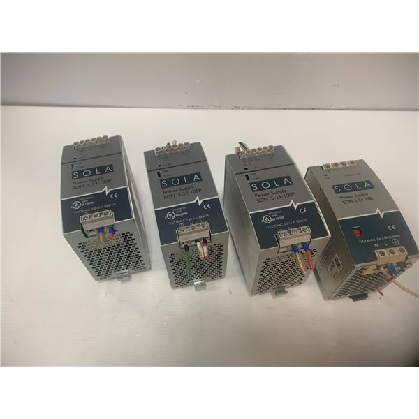 Lot of SOLA Power Supplies  (see pics)