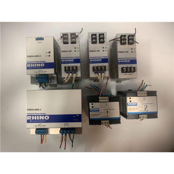Lot of RHINO Power Supplies  (see pics)
