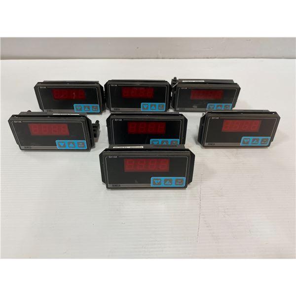 Lot of SENECA S311AK-4-L Digital Indicators