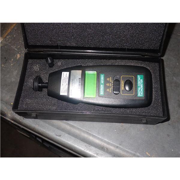 EXTECH #461891 Digital Contact Tachometer