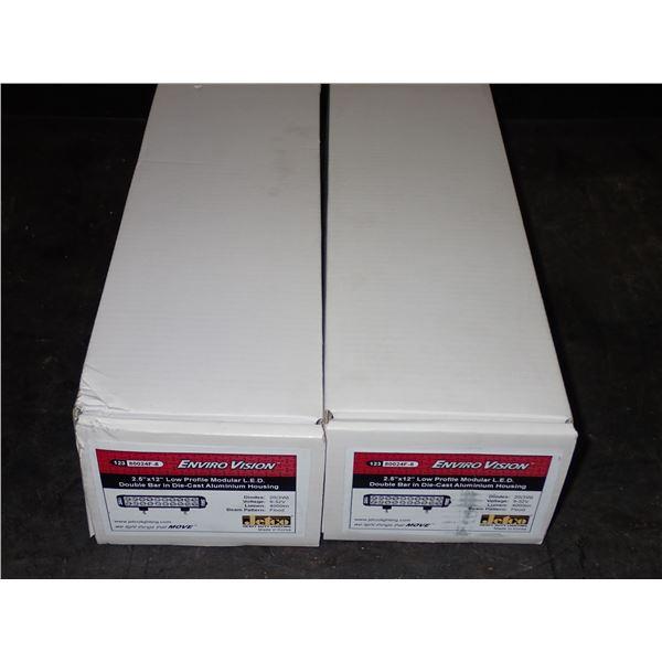"""Lot of (2) UNUSED Jetco 2.5"""" x 12"""" LED Lights"""