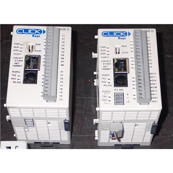 Lot of (2) AUTOMATION DIRECT #C0-10DD2E-D