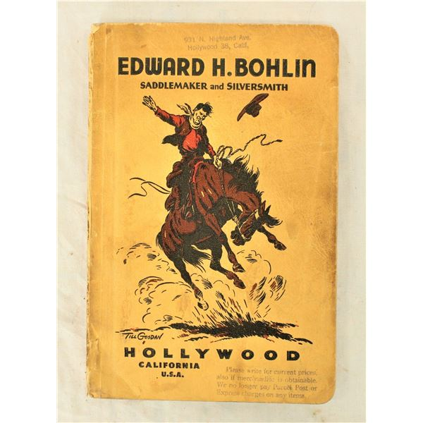 Bohlin Saddlery Catalog