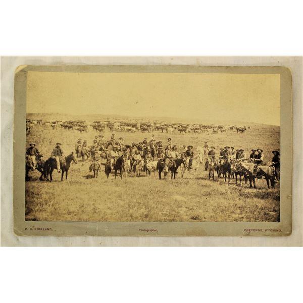 C.D. Kirkland Cabinet Card