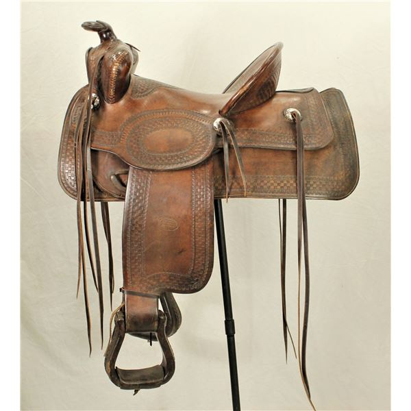 Western Saddle Mfg. Co Saddle