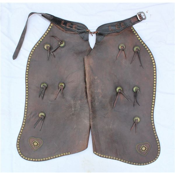 Studded Batwing Chaps