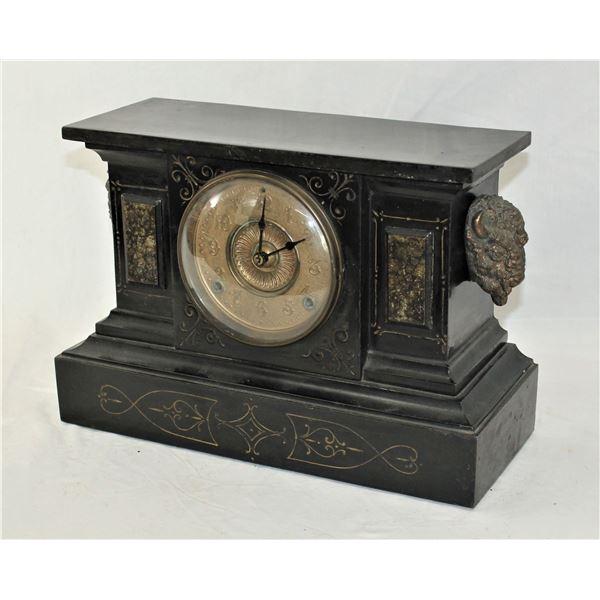 Buffalo Mantle Clock