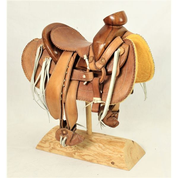 Salesmans Sample Mexican Saddle