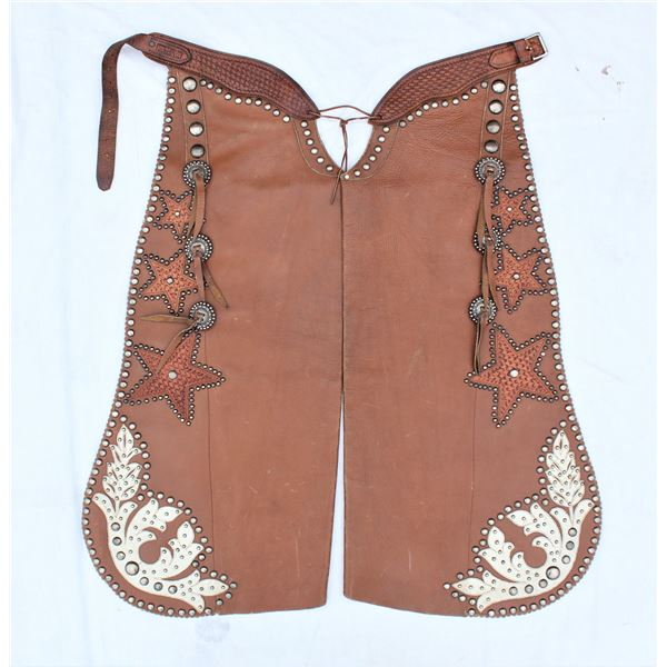 Otto Ernst Studded Batwing Chaps